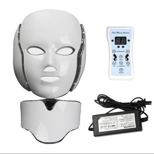 تصویر دستگاه جوان سازی پوست یونی پاور مدل ماسک ال ای دی 7 Colors Uni Power Skin Rejuvenation Machine 7 Colors LED Mask