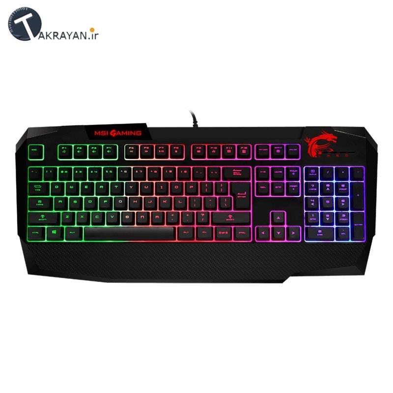 تصویر MSI Interceptor DS4200 Gaming Keyboard