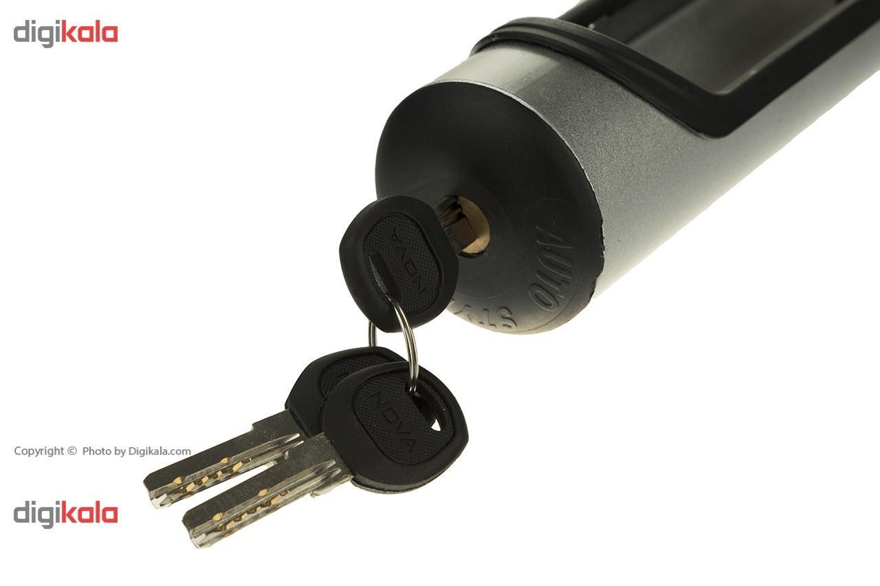 تصویر قفل فرمان خودرو نووا مدل L900 Nova L900 Steering Wheel Lock