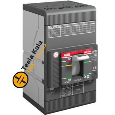 تصویر کلید اتوماتیک 100 آمپر ABB قابل تنظیم حرارتی-مغناطیسی XT1C160TMD-1SDA067397R1