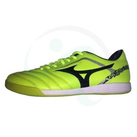 کفش فوتسال طرح میزانو باسارا سبز Mizuno Basara