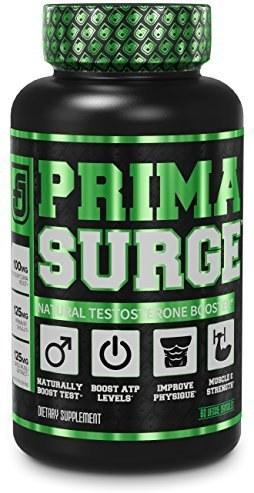 تقویت کننده تستسترون PRIMASURGE  - رشد عضلانی بدون چربی، قدرت، انرژی و چربی سوزی - 60 کپسول گیاهی |