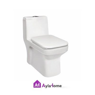 تصویر توالت فرنگی مروارید مدل ولگا کد محصول t2385
