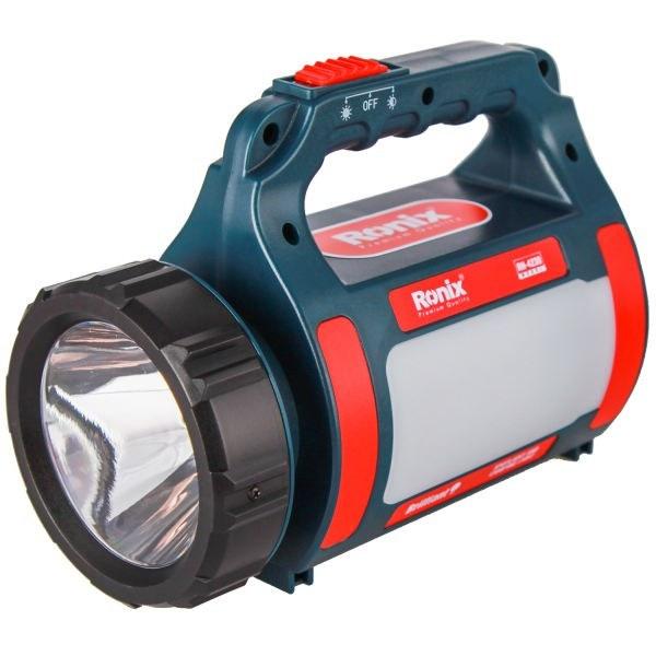تصویر نور افکن لیتیوم حرفه ای برلیانت رونیکس مدل RH-4230 Ronix RH-4230 Brilliant Flashlight