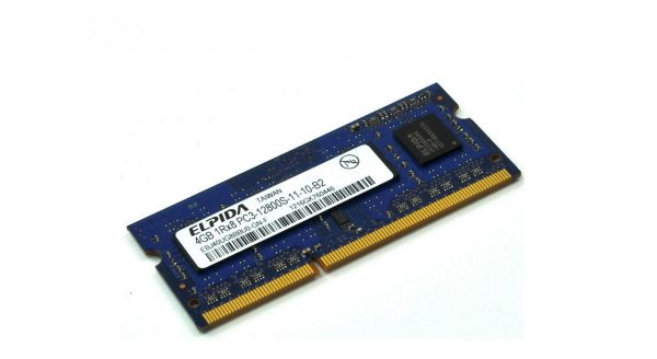 رم لپ تاپ مدل ۱۶۰۰ DDR3L PC3L 12800S MHz ظرفیت ۴ گیگابایت