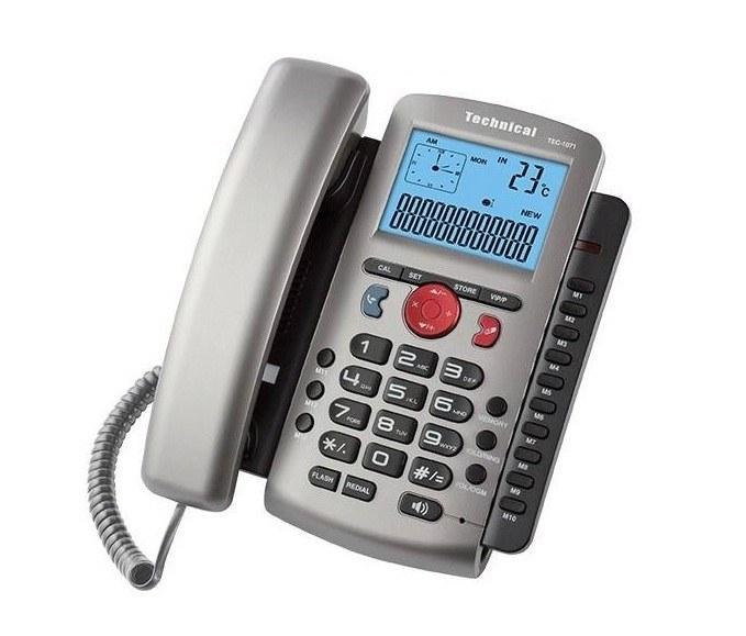تصویر تلفن تکنیکال مدل TEC-1071
