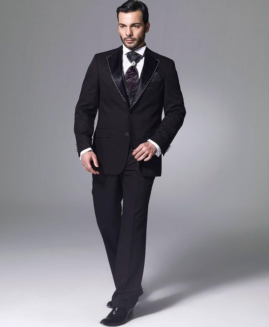 تصویر کت شلوار مردانه رسمی مدل ایتالیایی