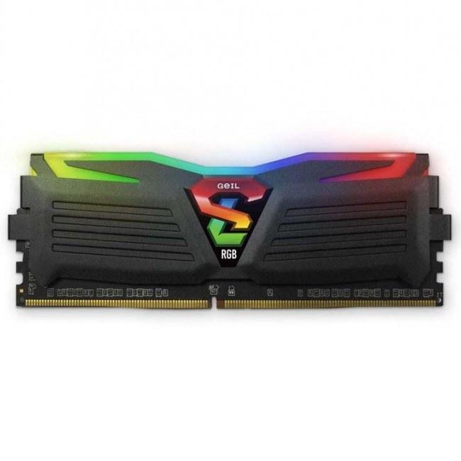 عکس رم دسکتاپ DDR4 تک کاناله 2400 مگاهرتز CL17 گیل مدل SUPER LUCE RGB ظرفیت 4 گیگابایت  رم-دسکتاپ-ddr4-تک-کاناله-2400-مگاهرتز-cl17-گیل-مدل-super-luce-rgb-ظرفیت-4-گیگابایت