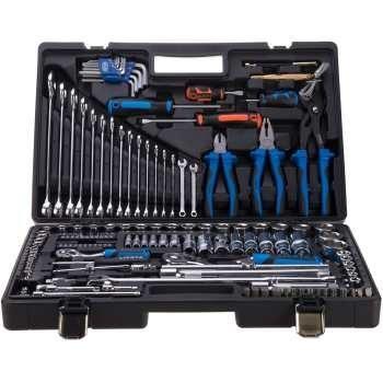 مجموعه 143 عددی جعبه ابزار لیکوتا مدل AHB-ALK8009F | Licota ALK8009F 143Pcs Tools Box