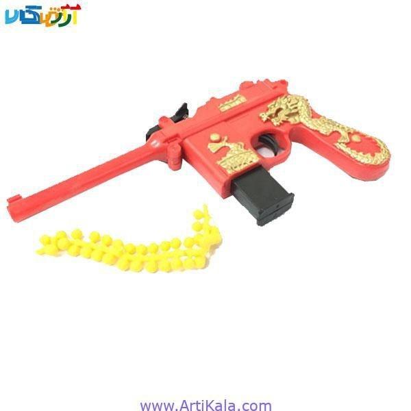 تصویر تفنگ اسباب بازی ساچمه ای طرح اژدها