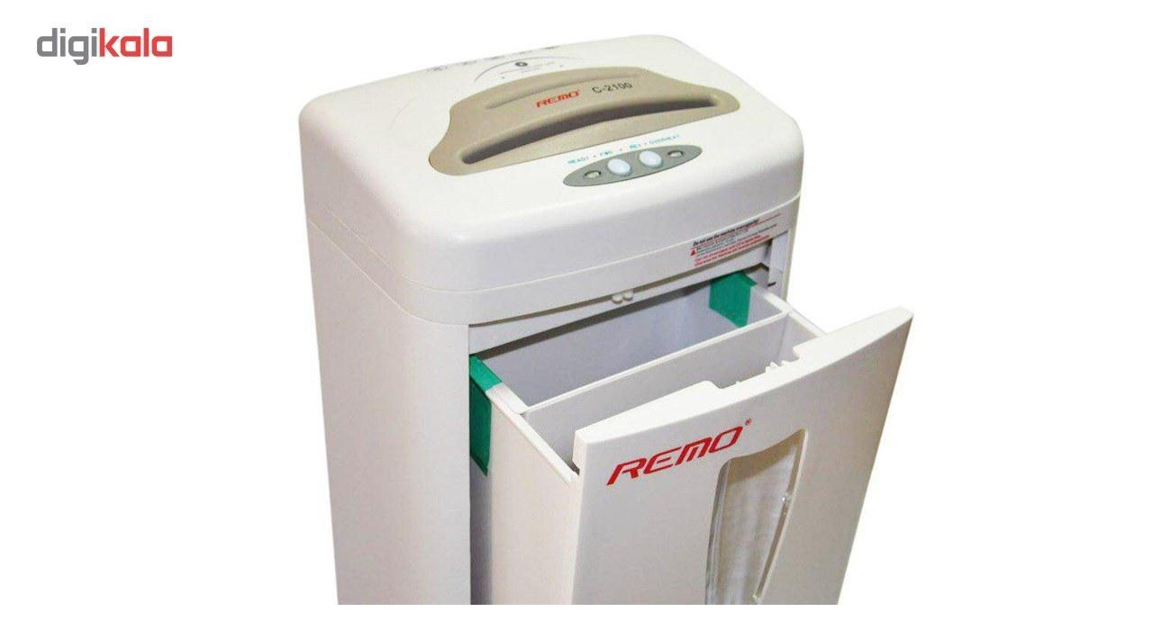 تصویر کاغذ خرد کن مدل  Remo 2100 (Remo 2100 Paper Shredder)
