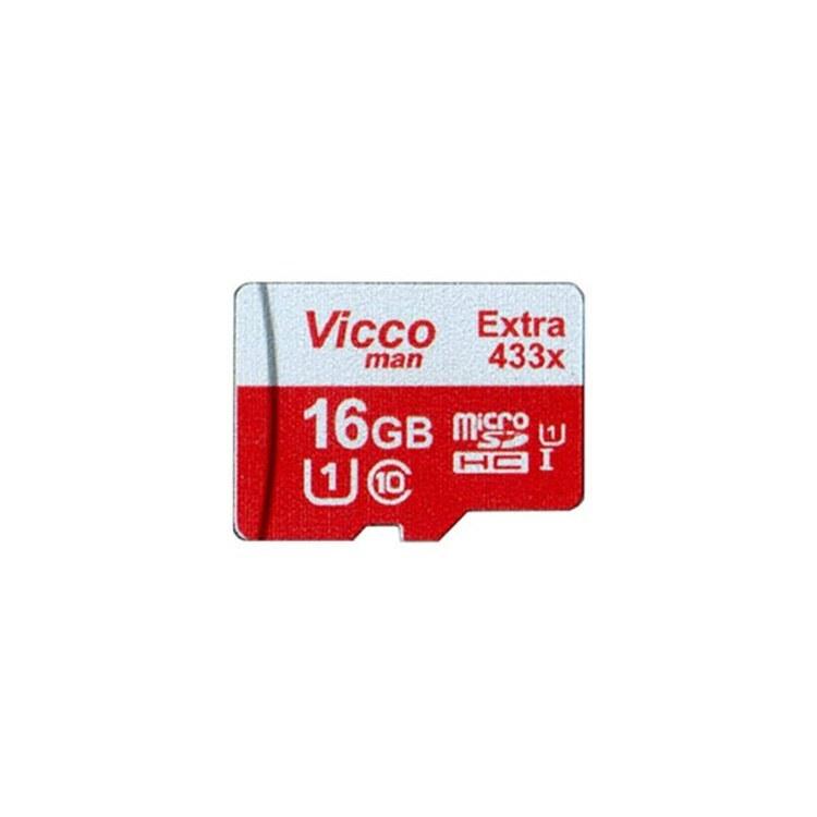 کارت حافظه microSDHC ویکومن مدل Extra 433x ظرفیت 16 گیگابایت