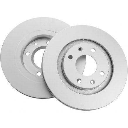 تصویر دیسک ترمز چرخ جلو  مناسب برای خودرو پژو 405 ، زانتیا 1800، پژو پارس ، پژو پارس ELX ، سمند بسته 2 عددی