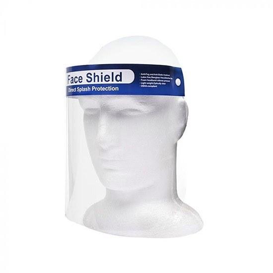تصویر شیلد محافظ صورت ثابت پلاستیکی