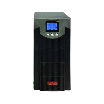 image یو پی اس فاران Titan 3000VA External UPS Faran Online LCD
