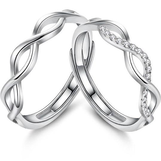 ست حلقه نقره - کد R031