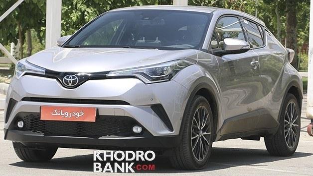 خودرو تويوتا C-HR اتوماتيک سال 2018 | Toyota C-HR 2018 AT
