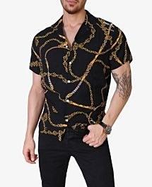 پیراهن طرح هاوایی مردانه Zara کد 1677 |