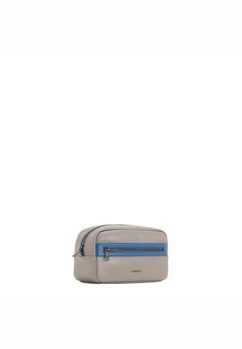 پلی اورتان-خاکستری روشن | کیف لوازم آرایش کارپیزا با کد AN575902S18-92193
