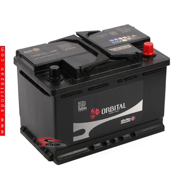 تصویر باتری اتمی اوربیتال پریمیوم ۶۶ آمپر Orbital Premium Atomic battery 66A