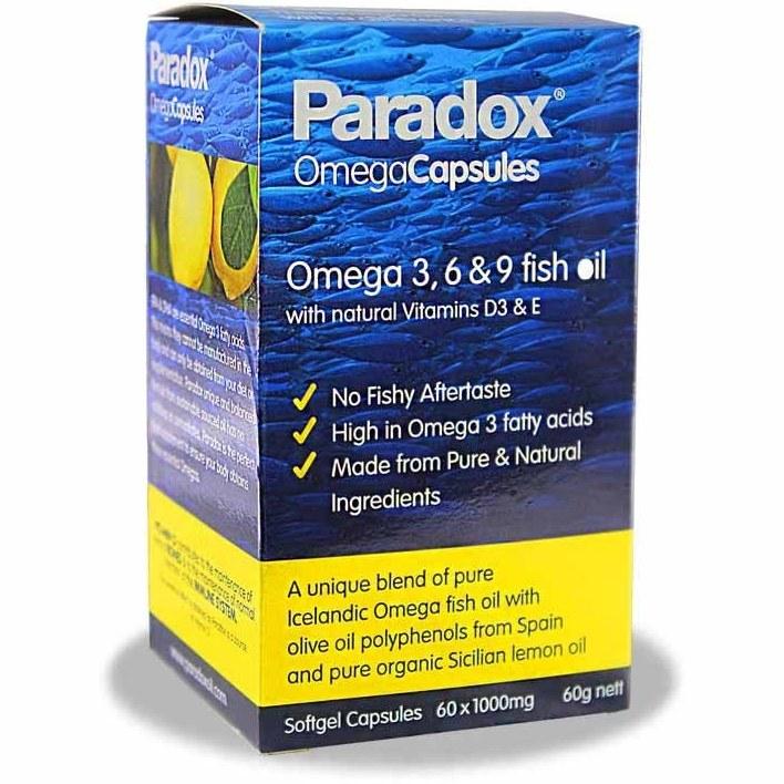 کپسول امگا 3، 6 و 9 پارادوکس – Paradox omega