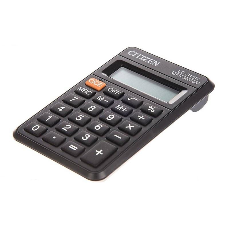 تصویر ماشین حساب مدل Lc-310N سیتیزن Citizen Lc-310N Calculator