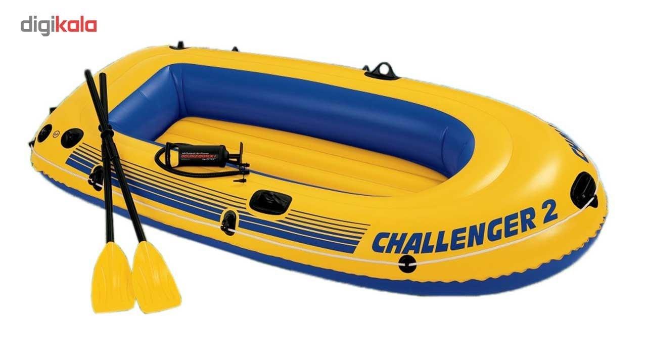 عکس قایق بادی اینتکس مدل 68367 _CHALLENGER-2  قایق-بادی-اینتکس-مدل-68367-_challenger-2