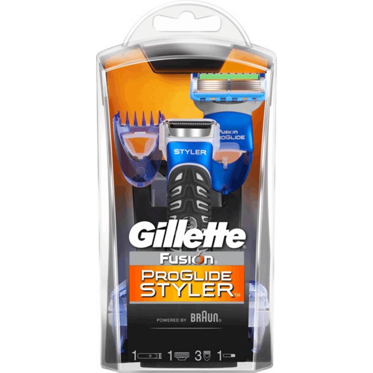 عکس دستگاه ژیلت پروگلاید استایلر 3 شانه اصل آلمان Gellete Styler  دستگاه-ژیلت-پروگلاید-استایلر-3-شانه-اصل-المان-gellete-styler