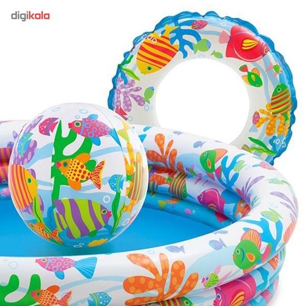img استخر بادی اینتکس مدل 59469 Intex 59469 Inflatable Pool