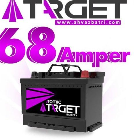 تصویر باطری 68 آمپر تارگت سپاهان باتری Sepahan Battery TARGET 68ah