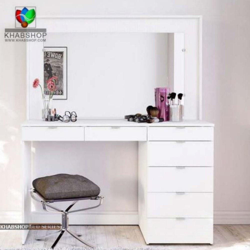 عکس ست میز آرایش و آینه 11  ست-میز-ارایش-و-اینه-11