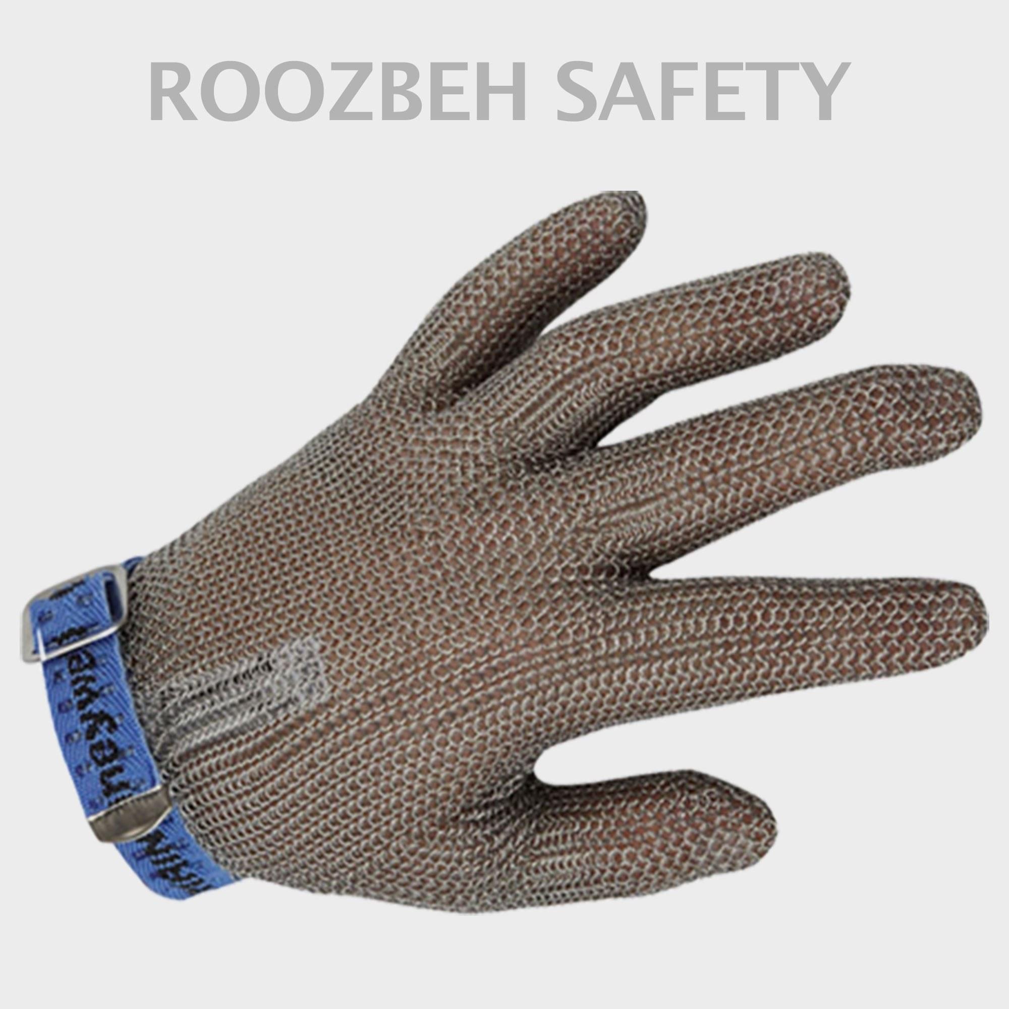 تصویر دستکش قصابی فلزی Honeywell