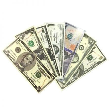 اسکناس آموزشی مدل دلار