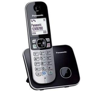 تصویر گوشی تلفن بی سیم پاناسونیک مدل KX-TG6811 Panasonic KX-TG6811BX Cordless Phone