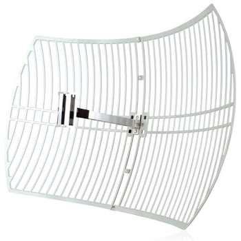آنتن تقویتی 24 دسیبل 2.4GHz Grid Parabolic تی پی-لینک مدل TL-ANT2424B | TP-LINK TL-ANT2424B 2.4GHz 24dBi Grid Parabolic Antenna