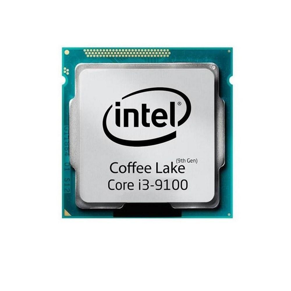 تصویر پردازنده مرکزی اینتل سری Coffee Lake مدل Core i3-9100 بدون باکس