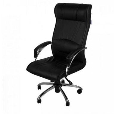 تصویر صندلی اداری k700 صندلی مدیریتی  کف و پشت فوم طبی جک تنظیم ارتفاع مکانیزم دوحالته چرخ ژله ای نشکن پایه تسمه ای