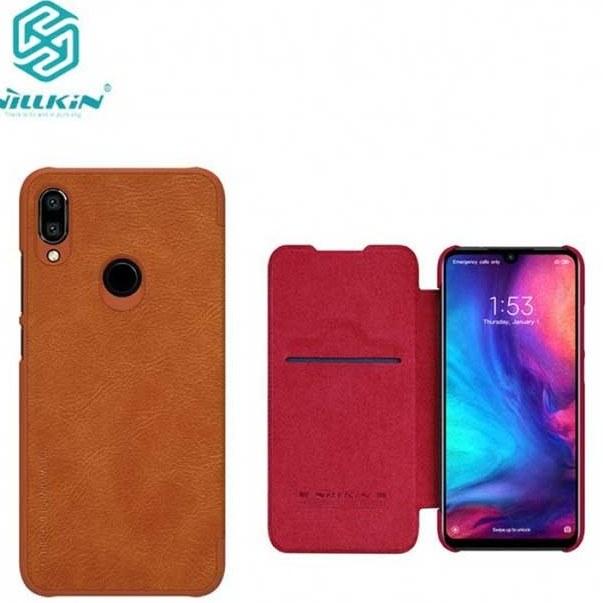 کیف محافظ نیلکین شیائومی Nillkin Flip PU Leather Qin Cover | Xiaomi Redmi Note 7 |