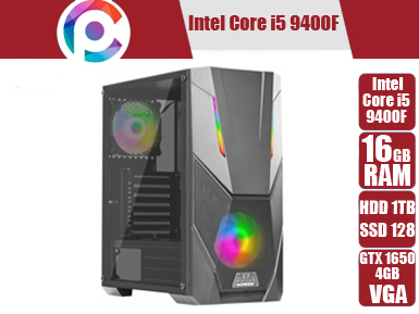 تصویر کامپیوتر گیمینگ و مهندسی Core i5 9400f