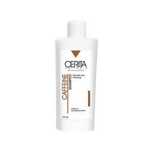 عکس شامپو تقویت کننده و ضد ریزش سریتا حاوی کافئین حجم 200 میل Cerita Anti Hair Loss Fortifying Shampoo With Caffeine 200ml شامپو-تقویت-کننده-و-ضد-ریزش-سریتا-حاوی-کافیین-حجم-200-میل