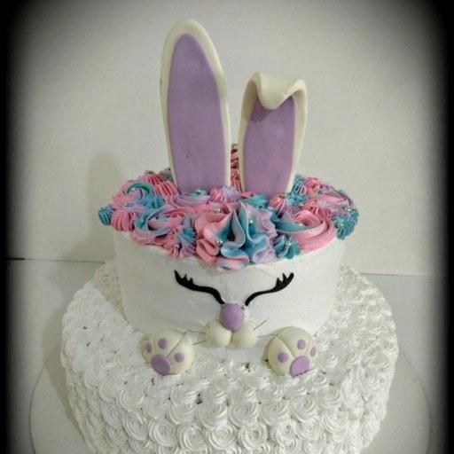 کیک تولد خرگوش |