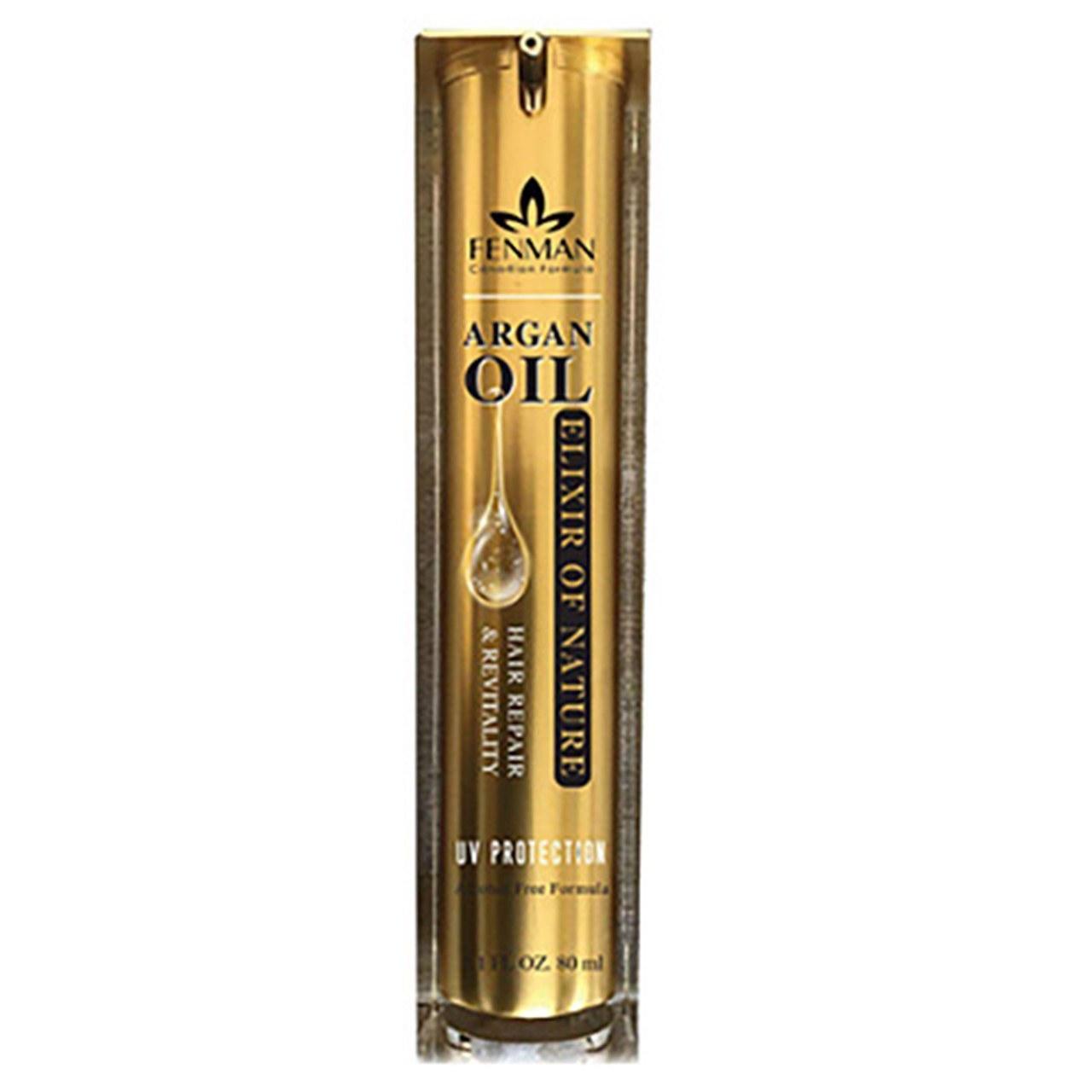 تصویر روغن آرگان فنمن حجم 80 میل Fenman argan oil size 80mill