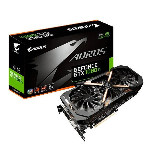کارت گرافیک Gigabyte AORUS GeForce GTX 1080 Ti 11G | Gigabyte AORUS GeForce GTX 1080 Ti 11GB Graphic Cards GV-N108TAORUS-11GD