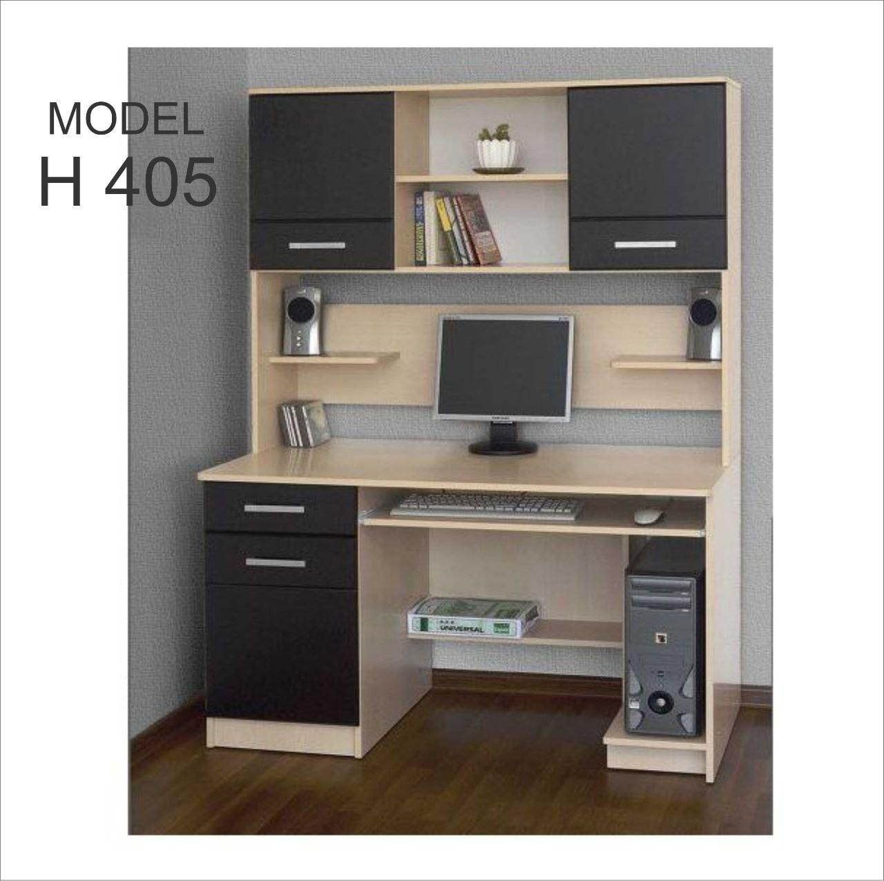 تصویر میز تحریر کتابخانه دار مدل H405