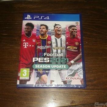 تصویر بازی فوتبال PES 2021 مخصوص پلی استیشن 4 ریجن 2 PES 2021 Football PS4 Game R2