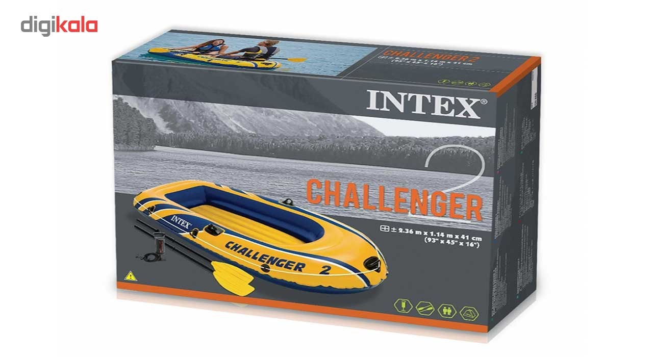 img قایق بادی اینتکس مدل 68367 _CHALLENGER-2