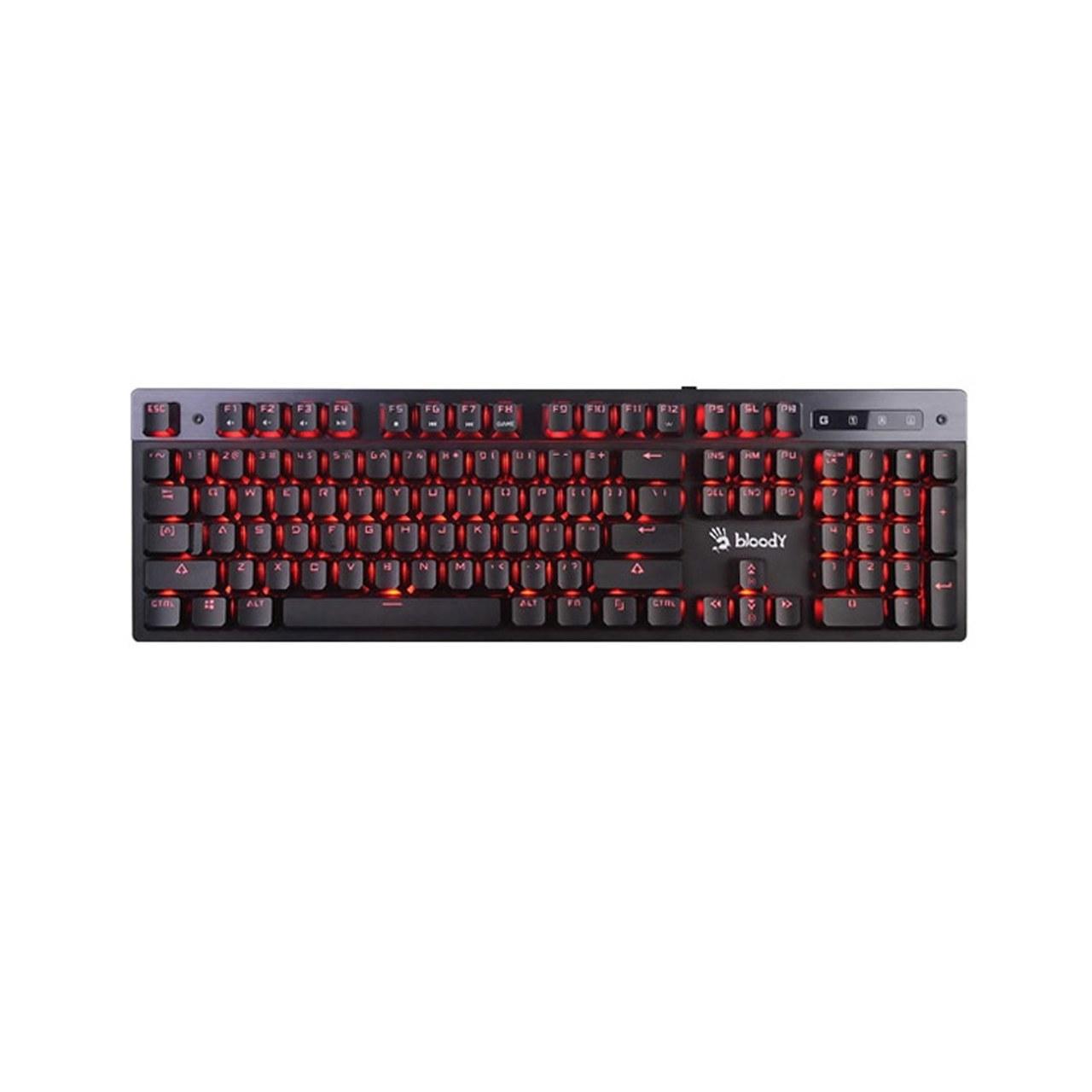 تصویر کیبورد گیمینگ سیم دار ای فورتک مدل B500 (Gaming Keyboard A4--tech B500)