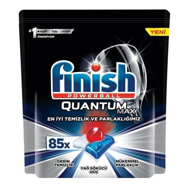 تصویر قرص ماشین ظرفشویی فینیش کوانتوم مکس 85 عددی Finish Quantum Max 00239