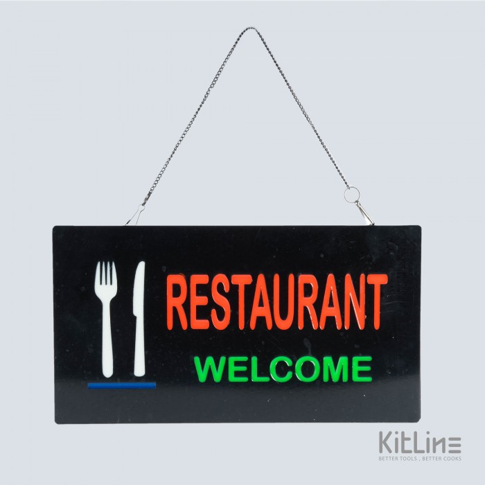 تصویر تابلو LED مدل Restaurant