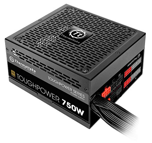 Thermaltake TOUGHPOWER 750W 80 PLUS GOLD منبع تغذیه نیمه مدولار PS-TPD-0750MPCGUS-1